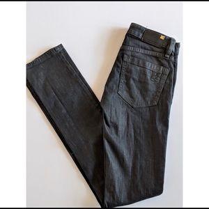 BCBG wax skinny jeans
